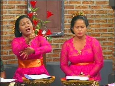 Apresiasi sastra Bali lewat 'Kidung Interaktif' di Bali TV.