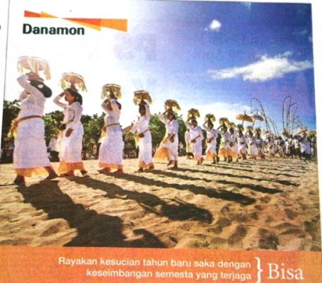 Iklan di Bali Post, 28 Maret 2014
