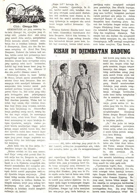 Kisah Jembatan Badung (1) Mjlh Damai Th II No 8 1 Juli 1954