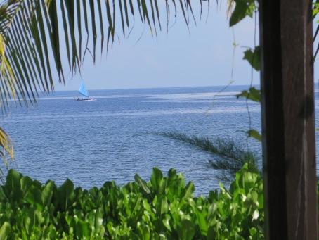 Indah pesona Lovina, Bali Utara. Dijepret dari Hotel Puri Saron.