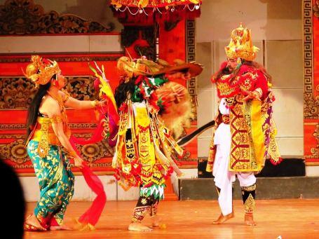 Sendratari Ramayana sebagai stage culture (Foto Darma Putra)