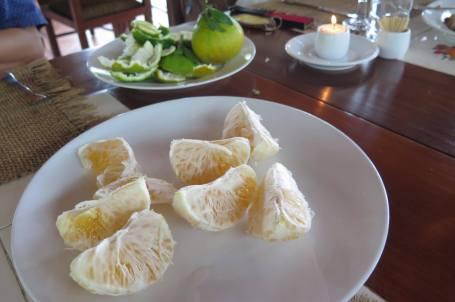 Isi dekopon, lembut lezat seedless alias tanpa biji (Foto Darma Putra)