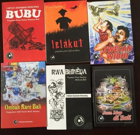 Sebagian dari sampul buku yang terbit tahun 2015 (Foto Darma Putra)