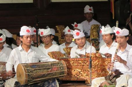 Penabuh gamelan muda berbakat, pilar keajegan seni tari Bali (Foto Darma Putra)