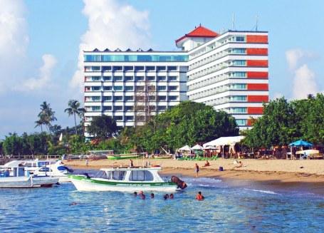 Hotel Bali Beach, tertinggi di Bali (Foto internet)