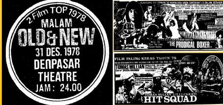 Iklan film Old and New tahun 1978 di Denpasar. Sumber: Bali Post, Jumat, 29 Desember 1978.